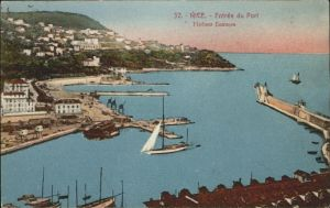 hw16159 Nice Alpes Maritimes Entree du Port, Hafen, Segelschiffe Kategorie. Nice Alte Ansichtskarten