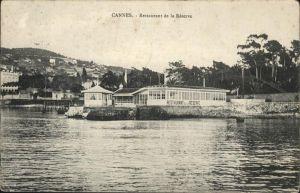 Cannes Alpes-Maritimes Restaurant Reserve Kat. Cannes