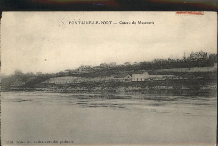Fontaine-le-Port Coteau de Massouris Kat. Fontaine-le-Port