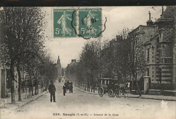 Nangis Avenue de la Gare Kat. Nangis
