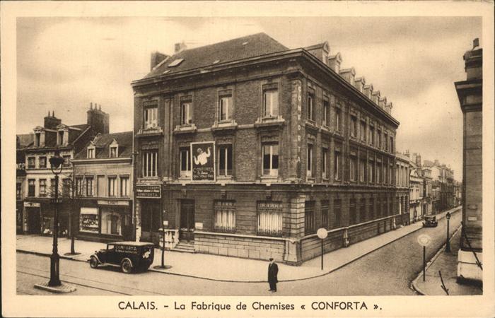 Calais Fabrique de Chemises Kat. Calais