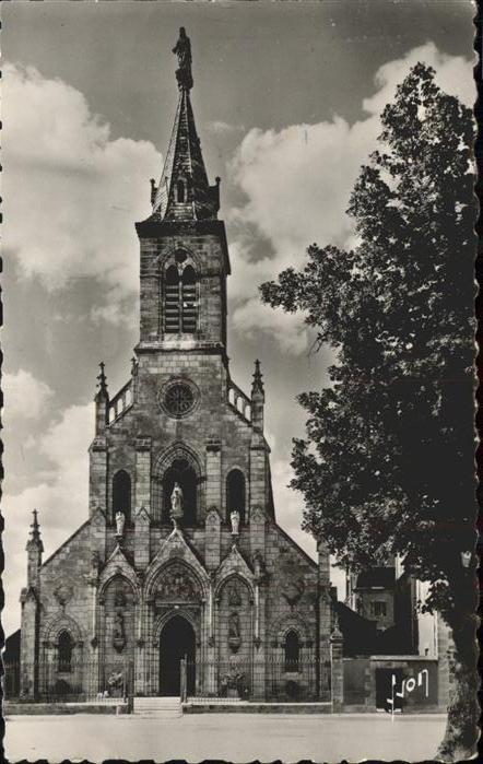 kk12121 Issoudun Indre Basilique de Notre Dame du Sacre Coeur Facade Kategorie. Issoudun Alte Ansichtskarten