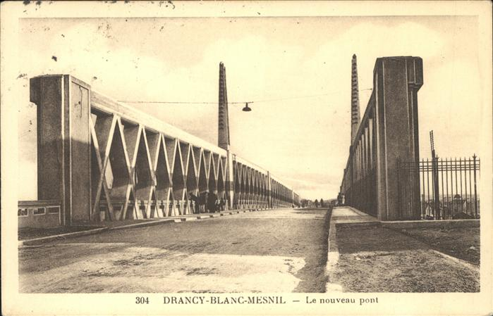 kk12531 Le Blanc-Mesnil Seine Saint Denis Le nouveau pont Kategorie. Le Blanc-Mesnil Alte Ansichtskarten