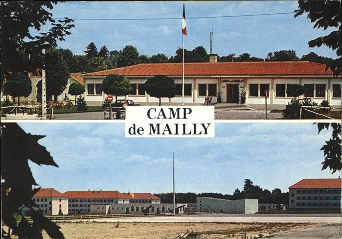 Mailly le camp bureau de la place caserne e regiment d artillerie
