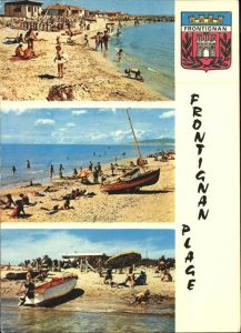 Frontignan Herault Vues sur la plage