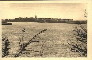 Saint Malo Ille et Vilaine Bretagne Vue generale prise de Dinard Kat. Saint Malo
