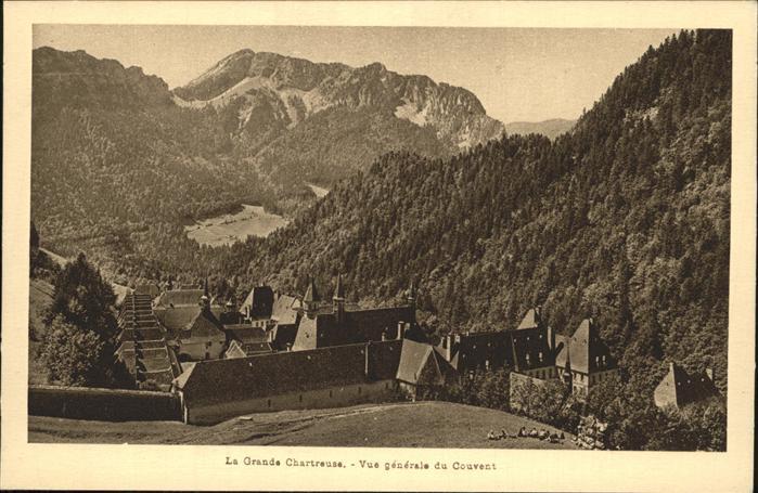 Saint Pierre de Chartreuse Isere La Grande Chartreuse Kloster Kat. Saint Pierre de Chartreuse