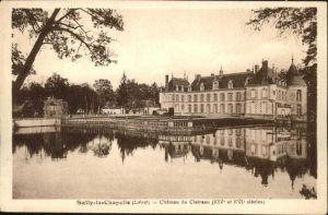 Sully-la-Chapelle Chateau de Claireau *