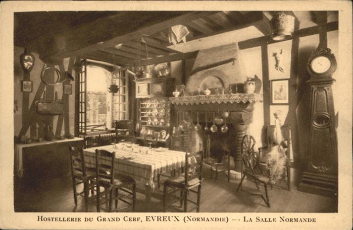 Evreux Hostellerie du Grand Cerf la Salle Normande *