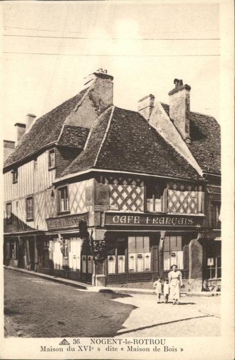 Nogent-le-Rotrou Maison de Bois *