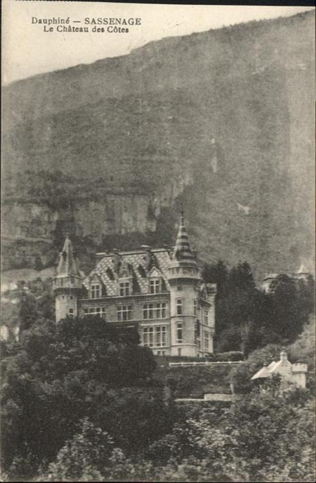 Sassenage le Chateau des Cotes *