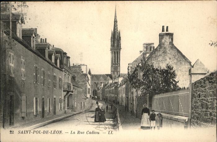 Saint-Pol-de-Leon la Rue Cadiou x
