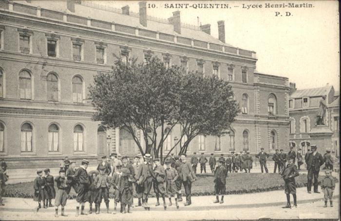Saint-Quentin Lycee Henri Martin x