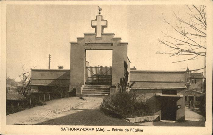 Sathonay-Camp Eglise *