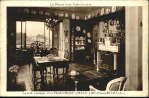Bourg-en-Bresse Ain Salle Manger Francisque Girard Maison x