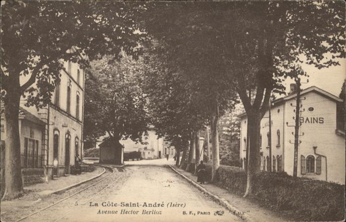 La Cote-Saint-Andre Avenue Hector Berlioz Bains *