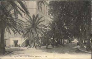 Ajaccio Place Palmiers x
