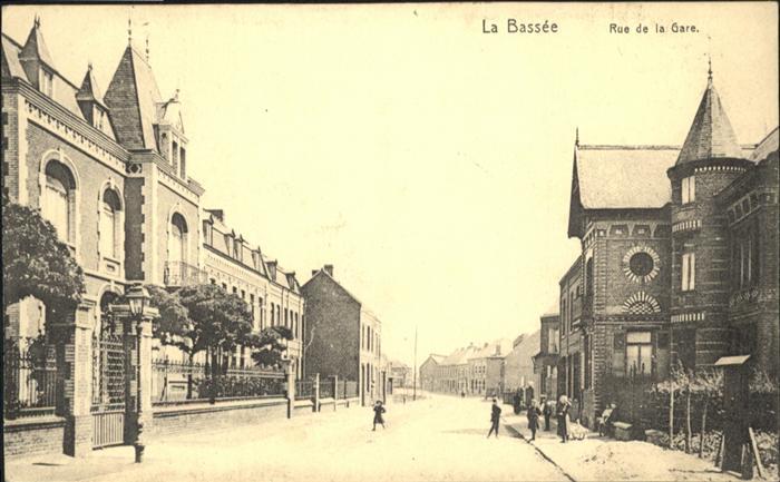La Bassee Rue de la Gare *