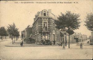 Saint-Quentin Boulevard Gambetta Rue Benezet *