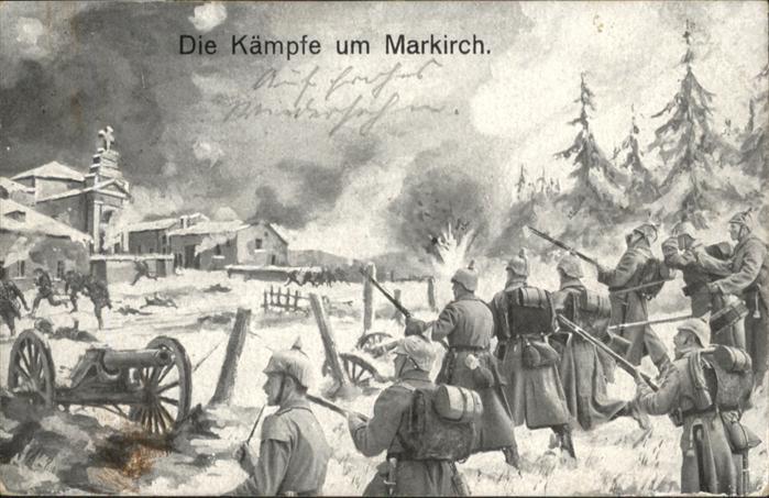 Markirch Gefecht Soldaten x