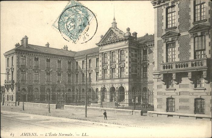 Amiens Ecole Normale x