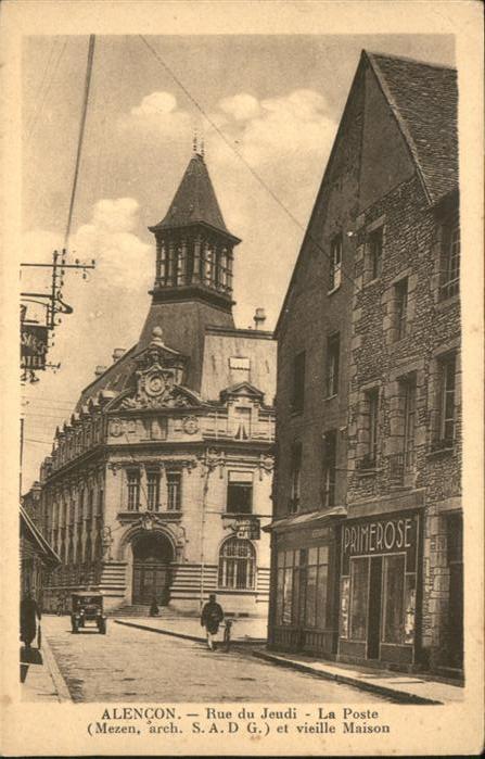 Alencon Rue du Jeudi Poste *