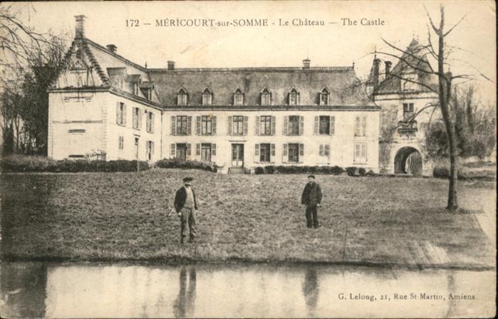 Mericourt-sur-Somme Chateau Castle *