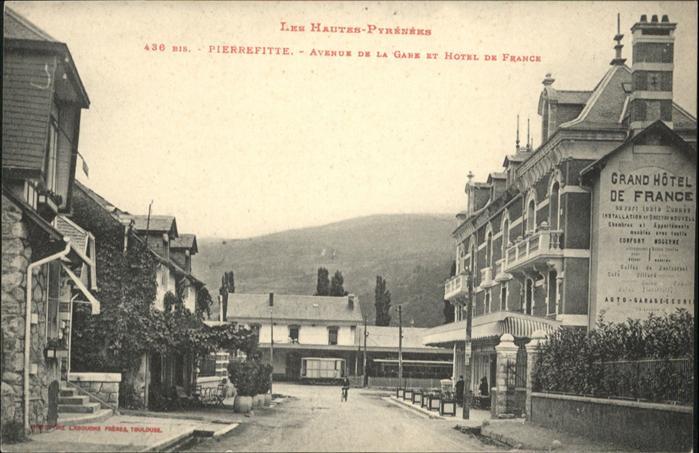 Pierrefitte-Nestalas Pierrefitte Avenue de la Gare Hotel de France *