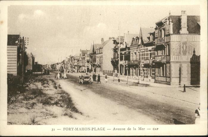Fort-Mahon-Plage Avenue de la Mer *
