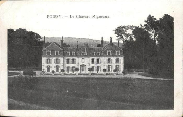 Poissy Chateau Migneaux
