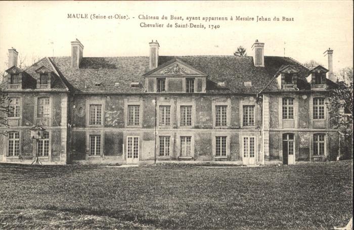 Maule Chateau Buat Chevalier Saint Denis