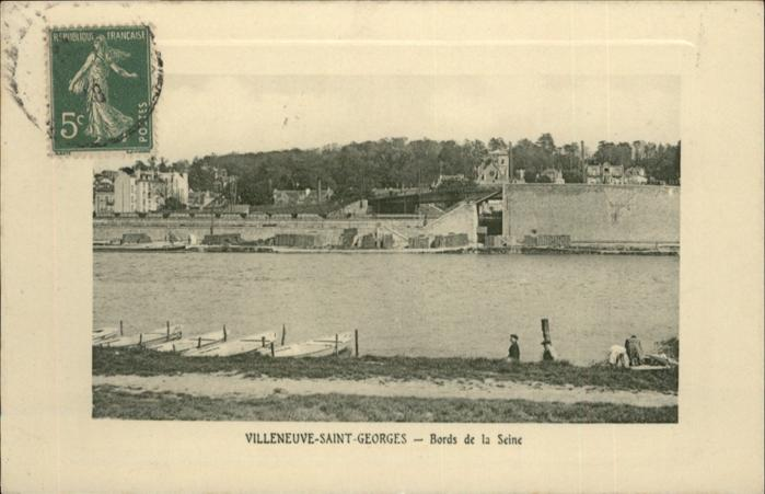 Villeneuve-Saint-Georges Bords de la Seine