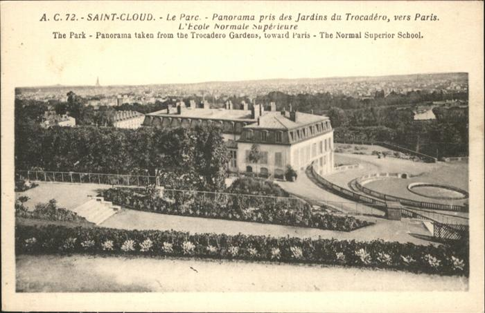 wb20406 Saint-Cloud Hauts-de-Seine Parc Jardins du Trocadero Kategorie. Saint-Cloud Alte Ansichtskarten