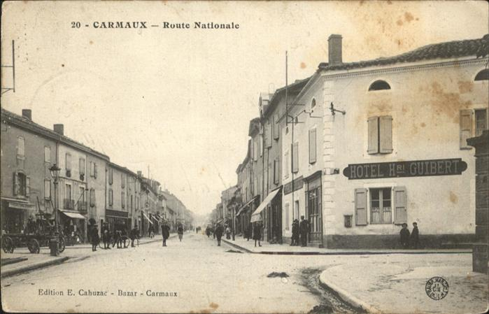 Carmaux Route Nationale