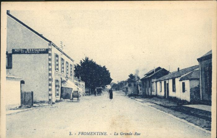 Fromentine la Grande- Rue