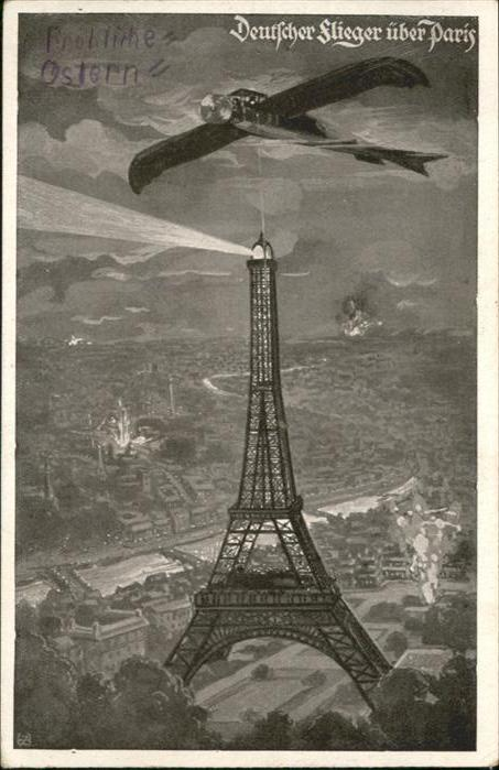 Paris Deutscher Flieger / Paris /Arrond. de Paris