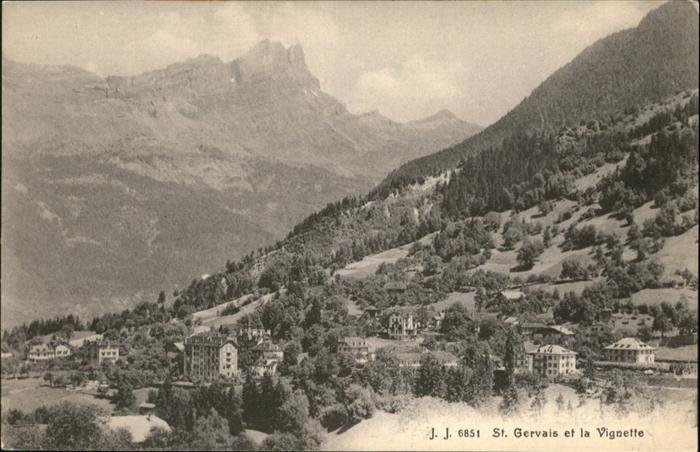 Saint-Gervais-les-Bains  / Saint-Gervais-les-Bains /Arrond. de Bonneville