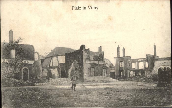 Vimy Platz in Vimy / Vimy /Arrond. d Arras