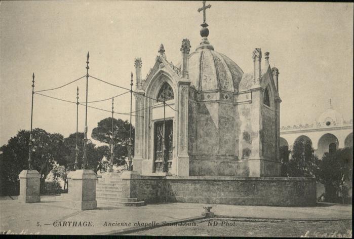 Carthage Karthago Chapelle Saint Louis / Tunis /