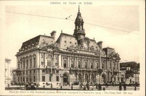 Tours Indre-et-Loire L'Hotel de Ville / Tours /Arrond. de Tours