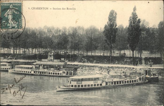 Charenton-le-Pont Station des Bateaux / Charenton-le-Pont /Arrond. de Creteil