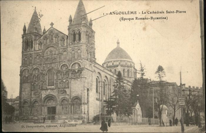 Angouleme La Cathedrale Saint Pierre / Angouleme /Arrond. d Angouleme