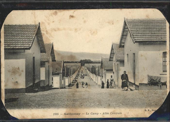 Sathonay-Village Le Camp Allee Centrale / Sathonay-Village /Arrond. de Lyon