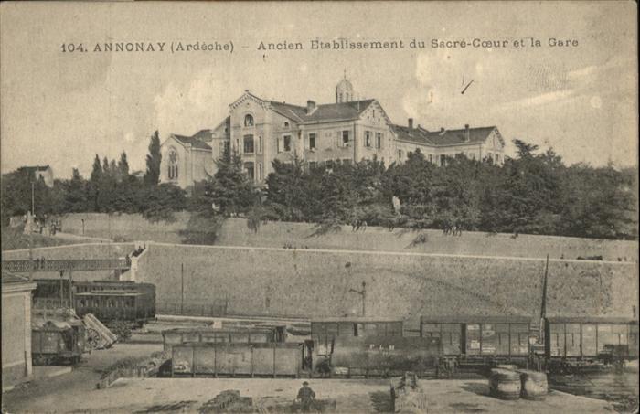 Annonay Ancien Etablissiment su Sacre-Coeur La Gare / Annonay /Arrond. de Tournon