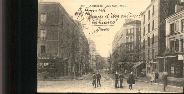 Asnieres-sur-Seine Rue Saint-Denis / Asnieres-sur-Seine /Arrond. de Nanterre