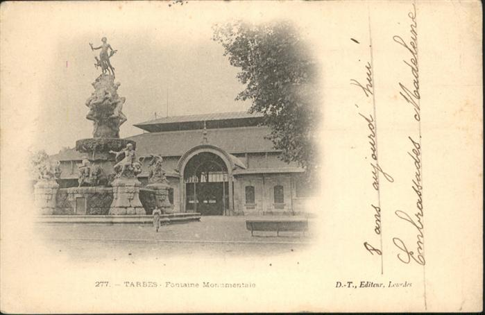 Tarbes Frontaine Monumentale / Tarbes /Arrond. de Tarbes
