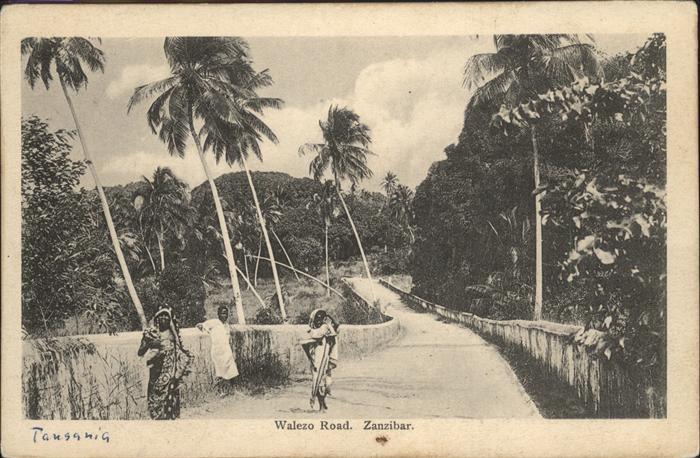 Zanzibar Walzeo Road / Zanzibar /