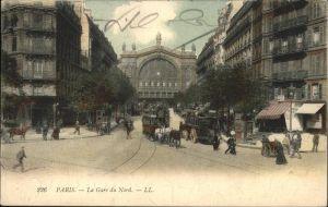 Paris La Gare du Nord / Paris /Arrond. de Paris