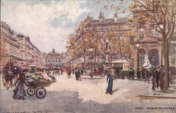Paris Avenue de l'Opera / Paris /Arrond. de Paris