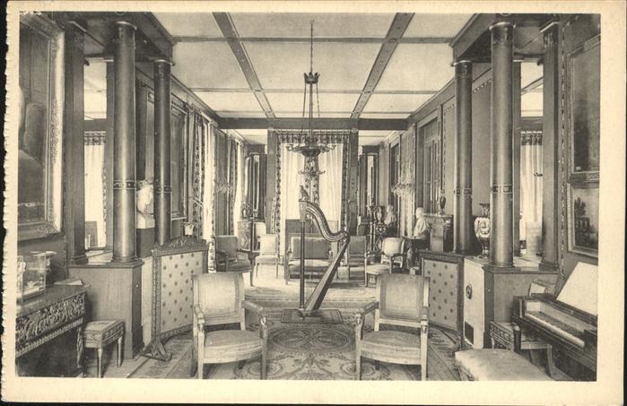 Rueil-Malmaison Chateau de Malmaison Salon de Musique de l'Imperatrice Josephine / Rueil-Malmaison /Arrond. de Nanterre